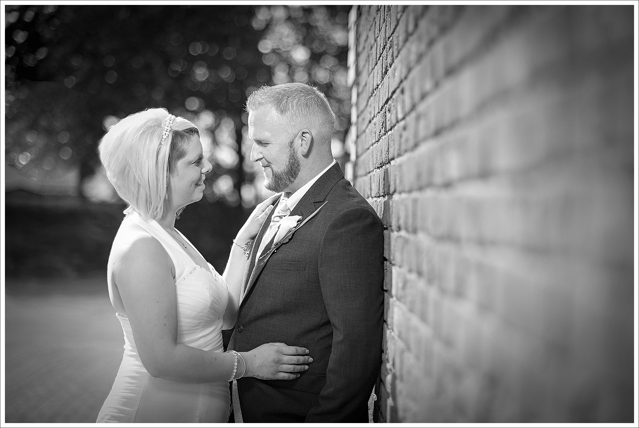 Bride and Groom and Southview Park Hotel Skegness