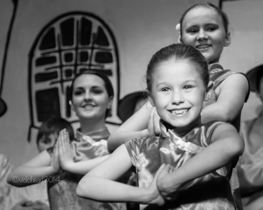 Pantomime dance photography