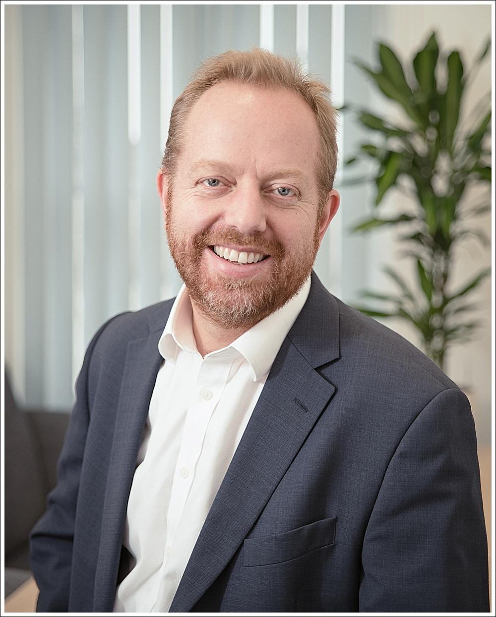 Dr Matt Carter, business head shot