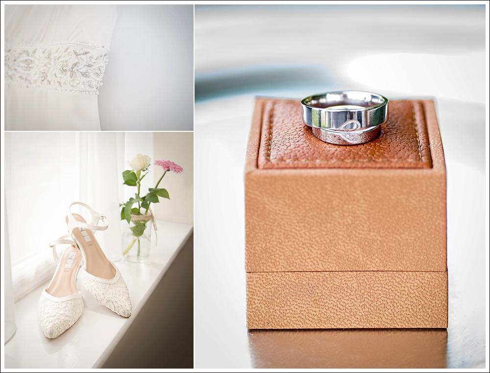 Bridal preparation, wedding rings