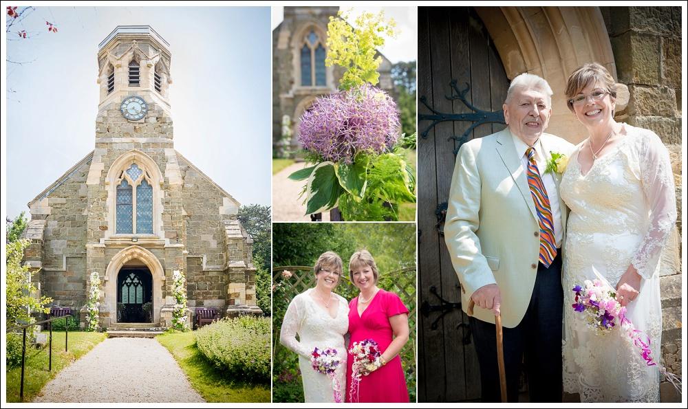 St Margaret's Church Thimbleby, wedding