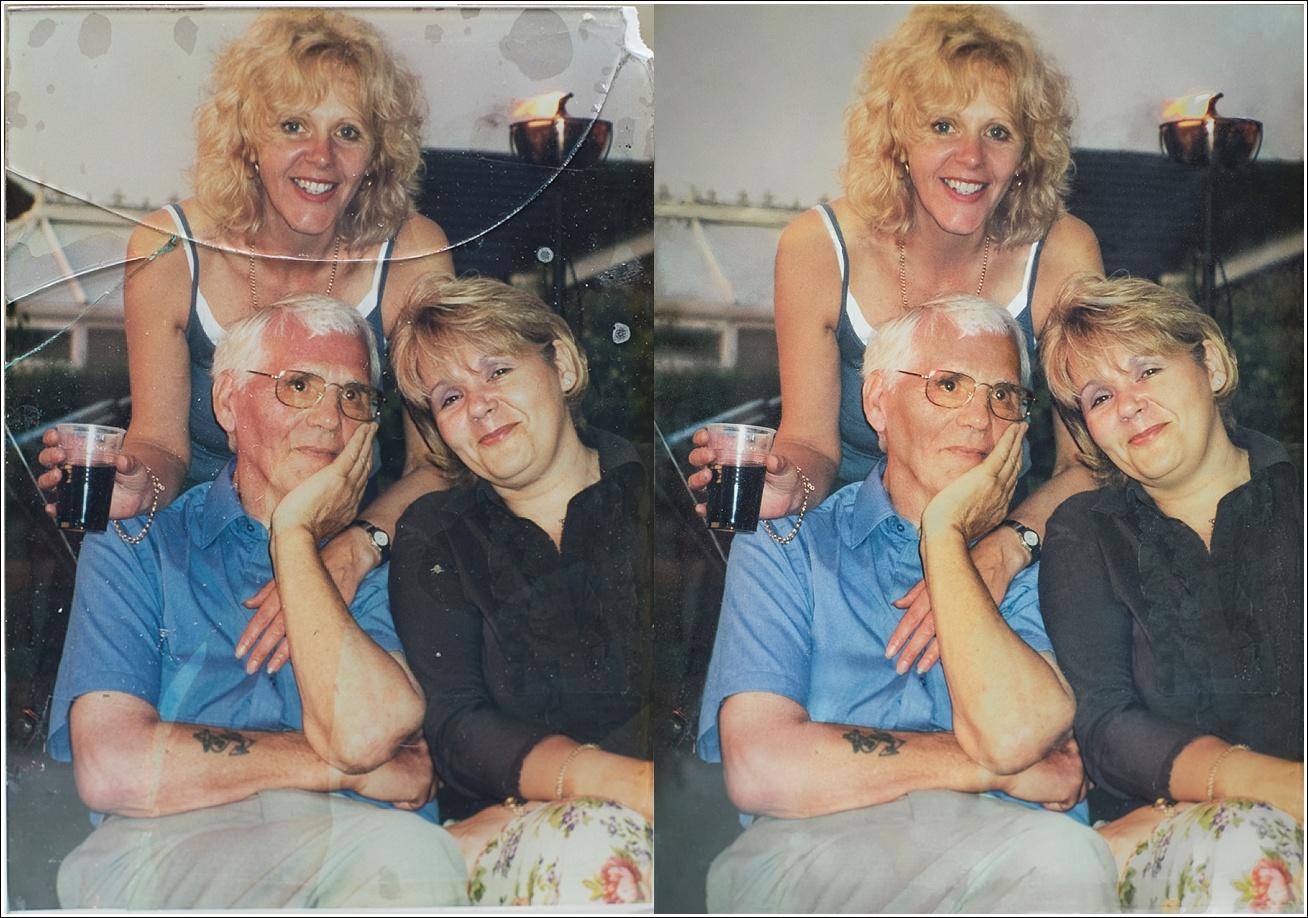 Vicki Head Photography - Photo restoration