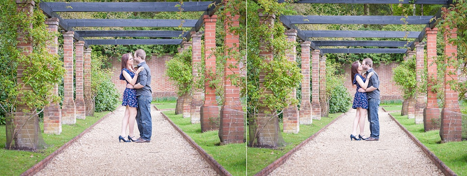 Engagement shoot at the Petwood Hotel, Woodhall Spa