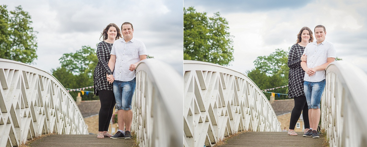 Engagement photography in Godmanchester