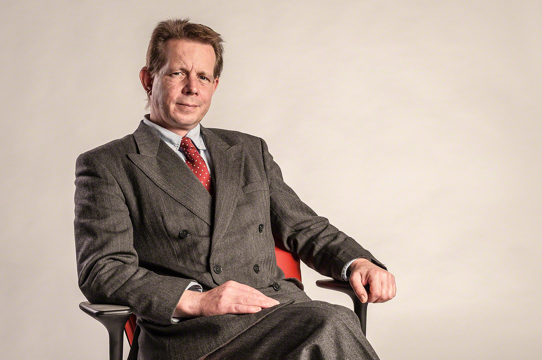 Estuary TV presenter Hugh Riches