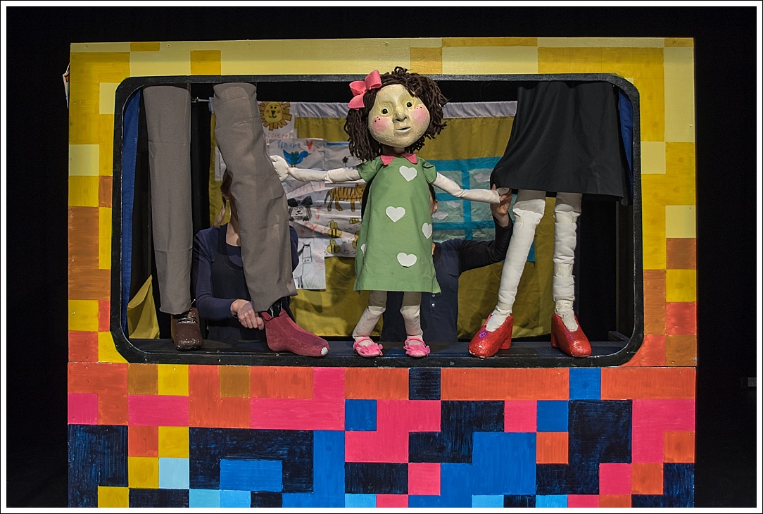 Puppet photography at Riverhead Theatre
