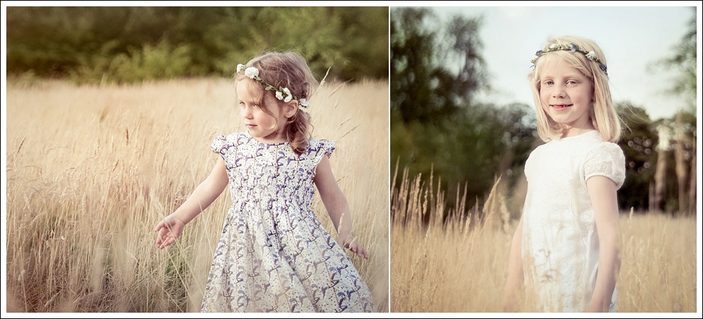 Child photography on location