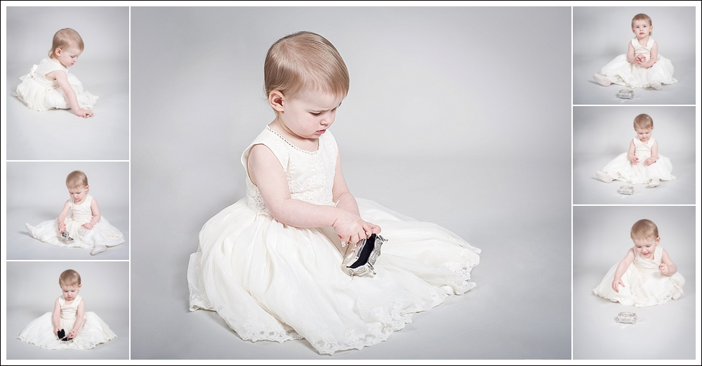 Studio portrait, child photography