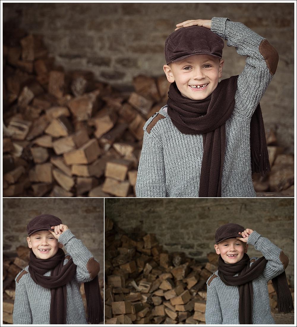Child photography on location