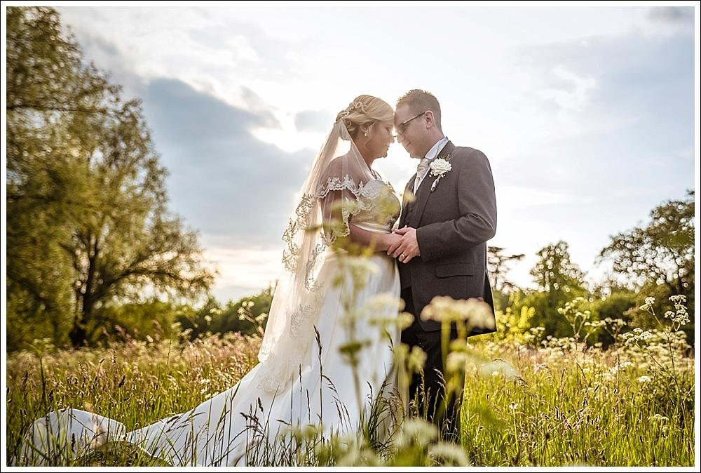Peterborough wedding, bride and groom