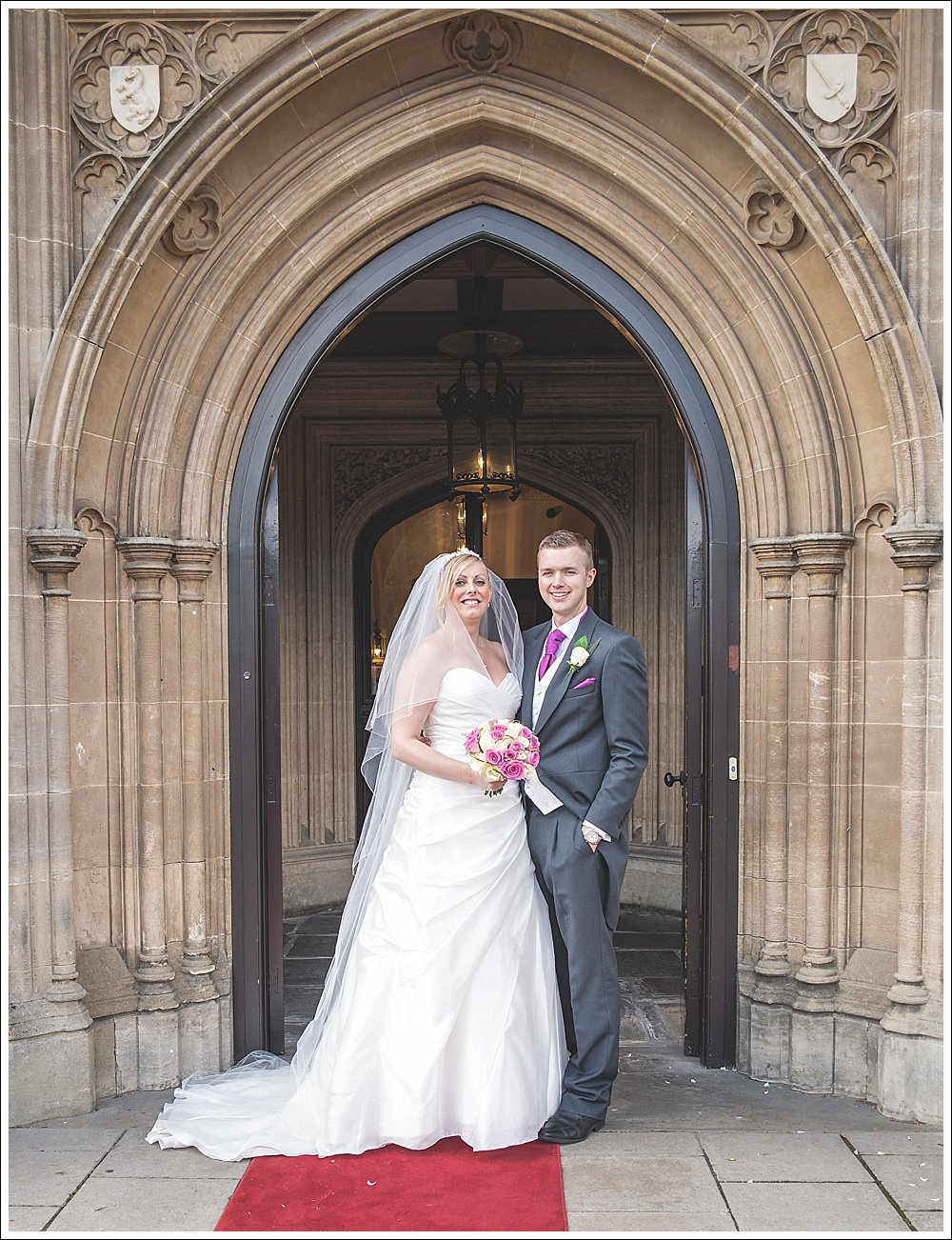 Bride and Groom, Cave Castle Hotel Hull