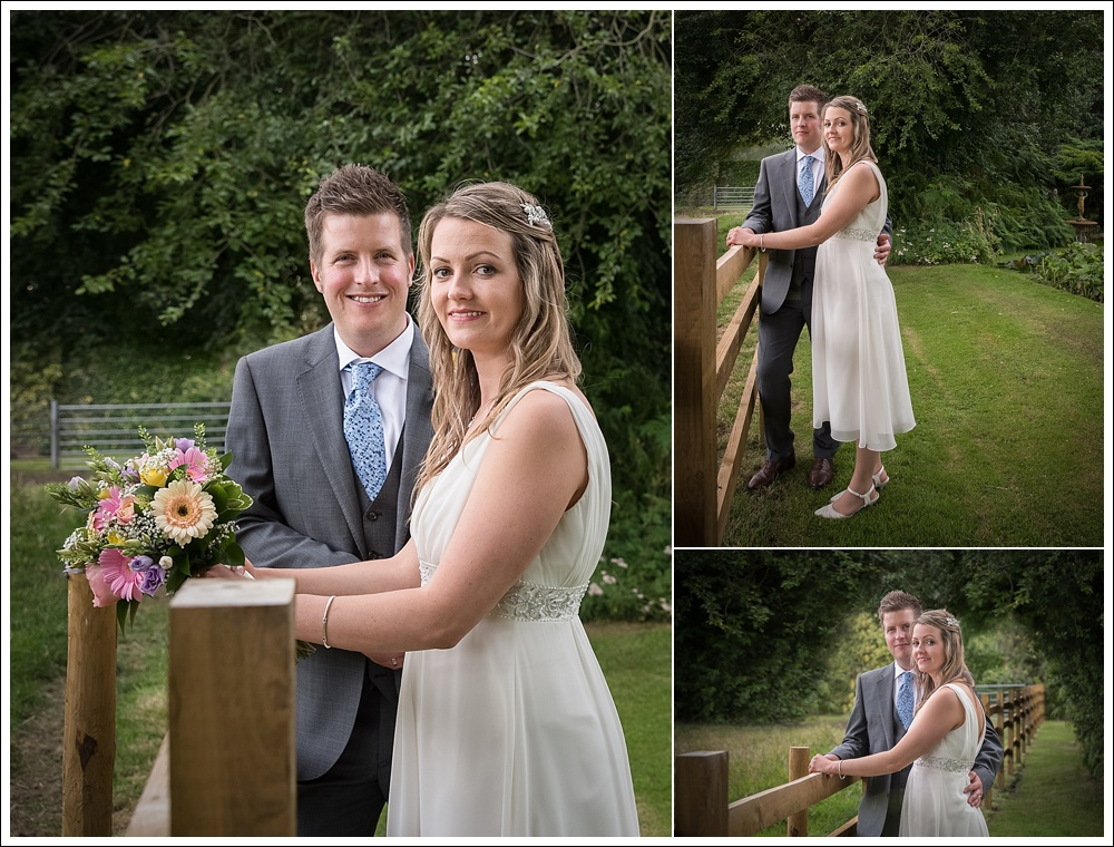 Lincolnshire wedding, bride and groom