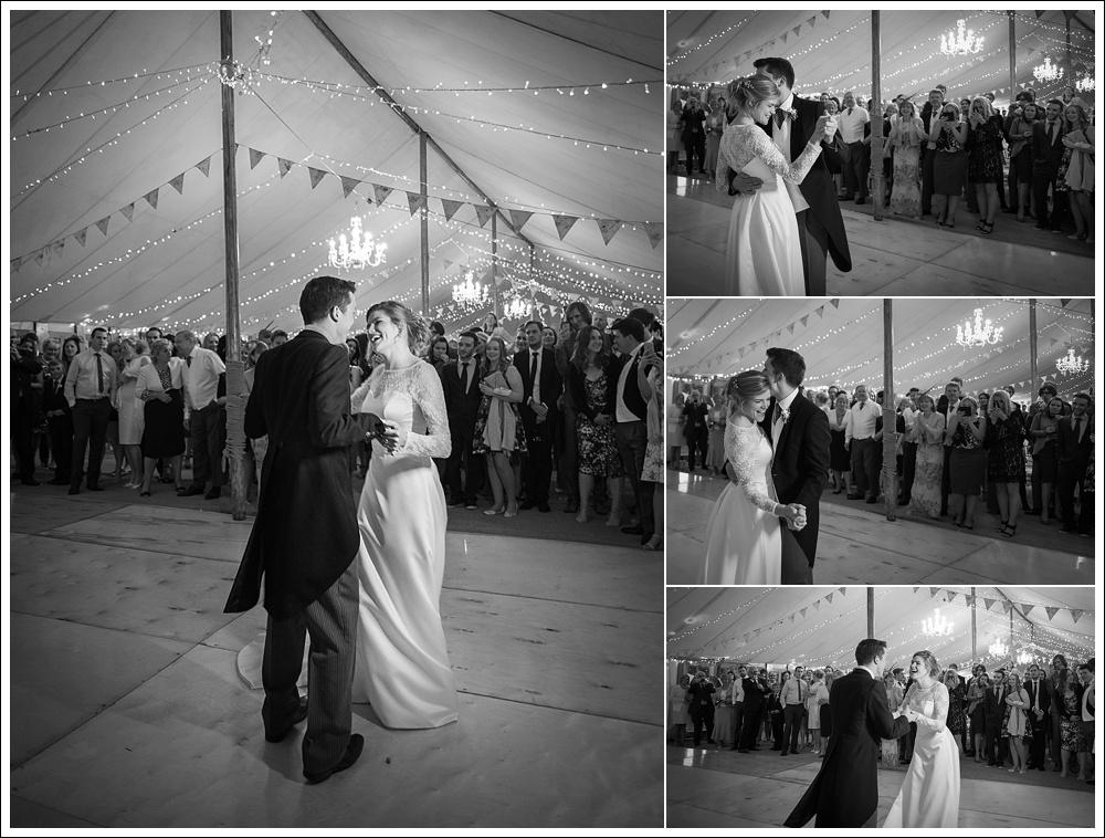 High Toynton wedding, first dance