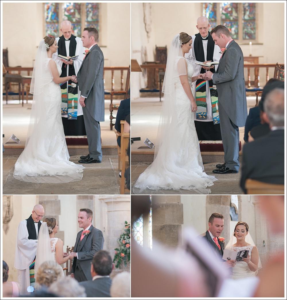 St James' Church, Hemingford Grey wedding ceremony