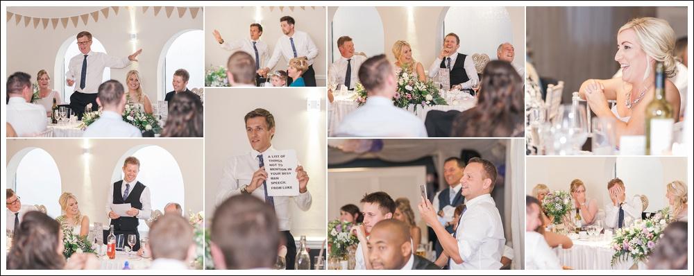 The Poachers, Boston, wedding, speeches
