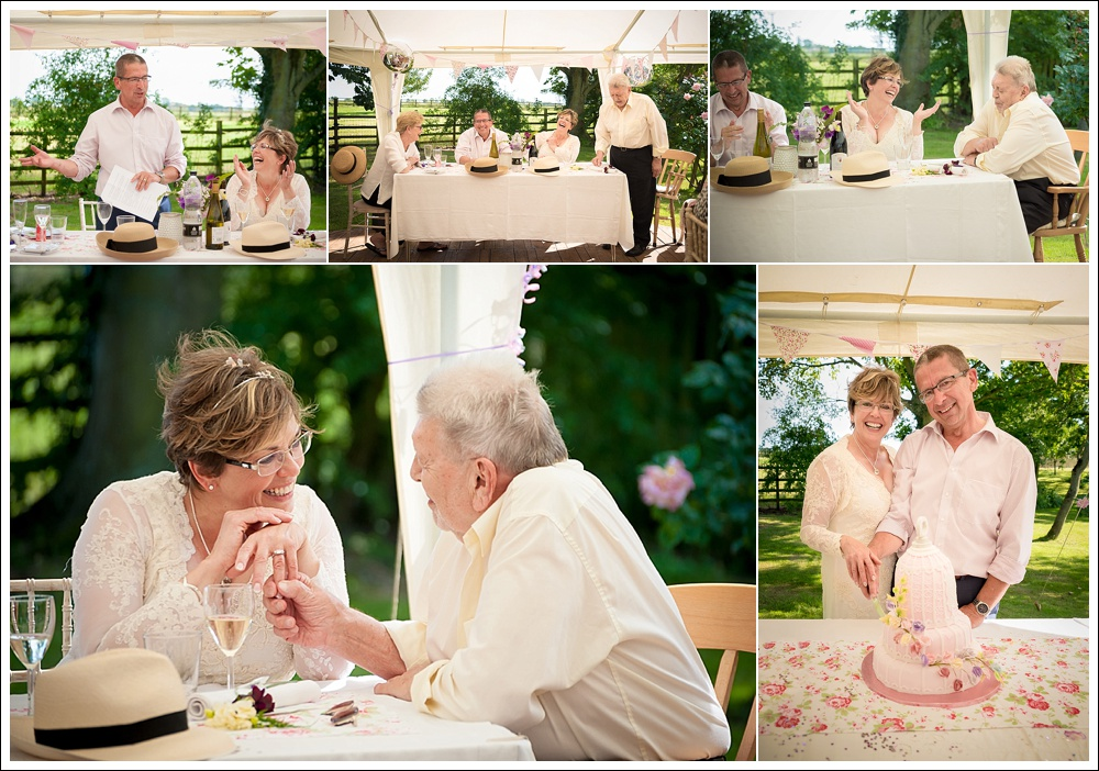 Summer wedding in Thimbleby Lincolnshire
