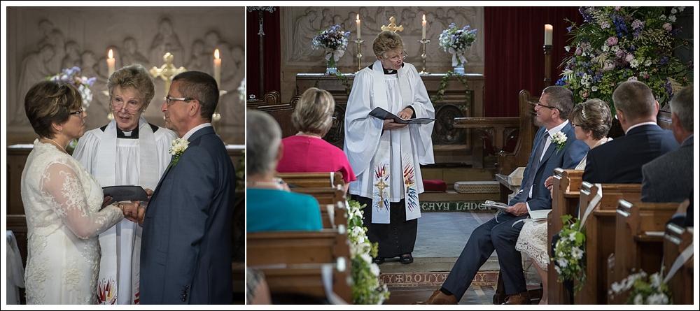St Margaret's Church Thimbleby wedding ceremony