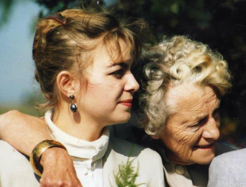 Vicki Head with her grandmother