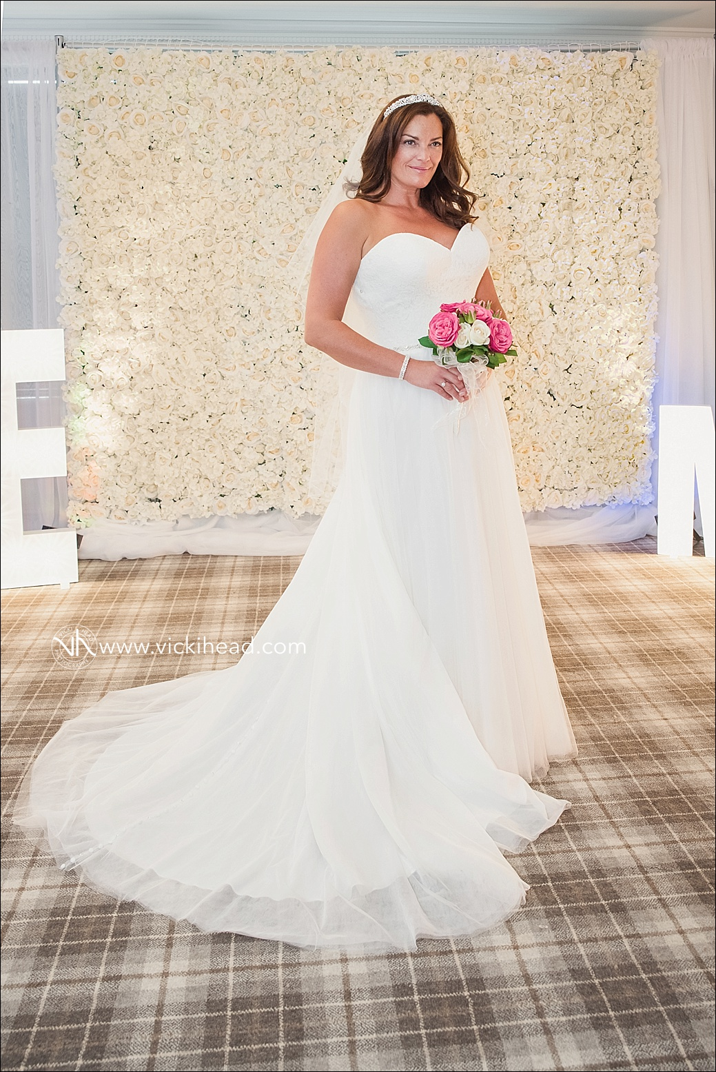 Zoe modelling a wedding dress from The Ivory Room Bridal Boutique