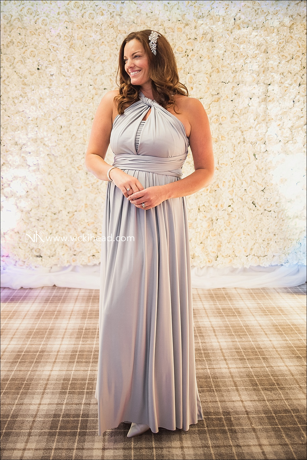 Zoe modelling a dress from The Ivory Room Bridal Boutique