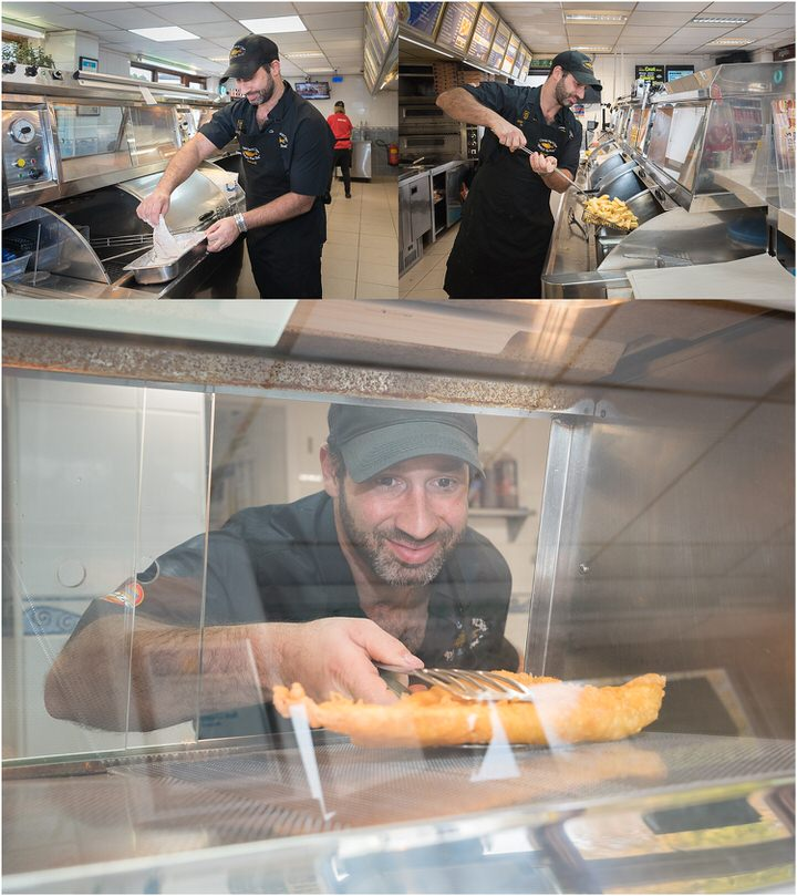 Commercial Photography, Food Photography, Chris's Fish and Chips