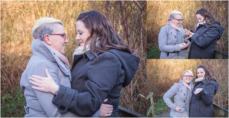 Surprise Engagement Shoot, same sex couple