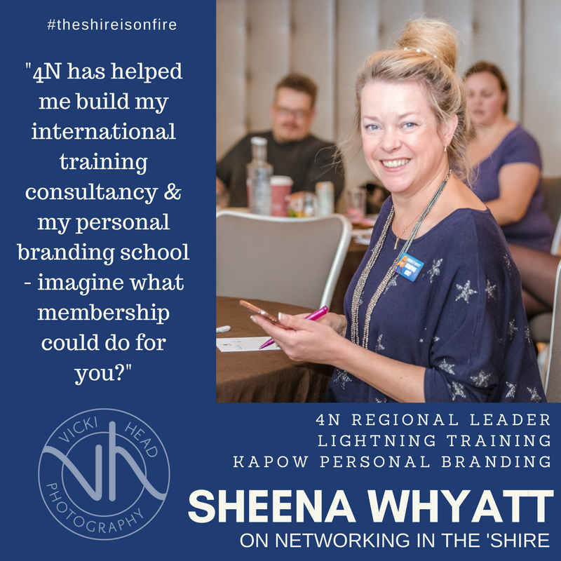 Sheena Whyatt, Lightning Training, Kapow Personal Branding