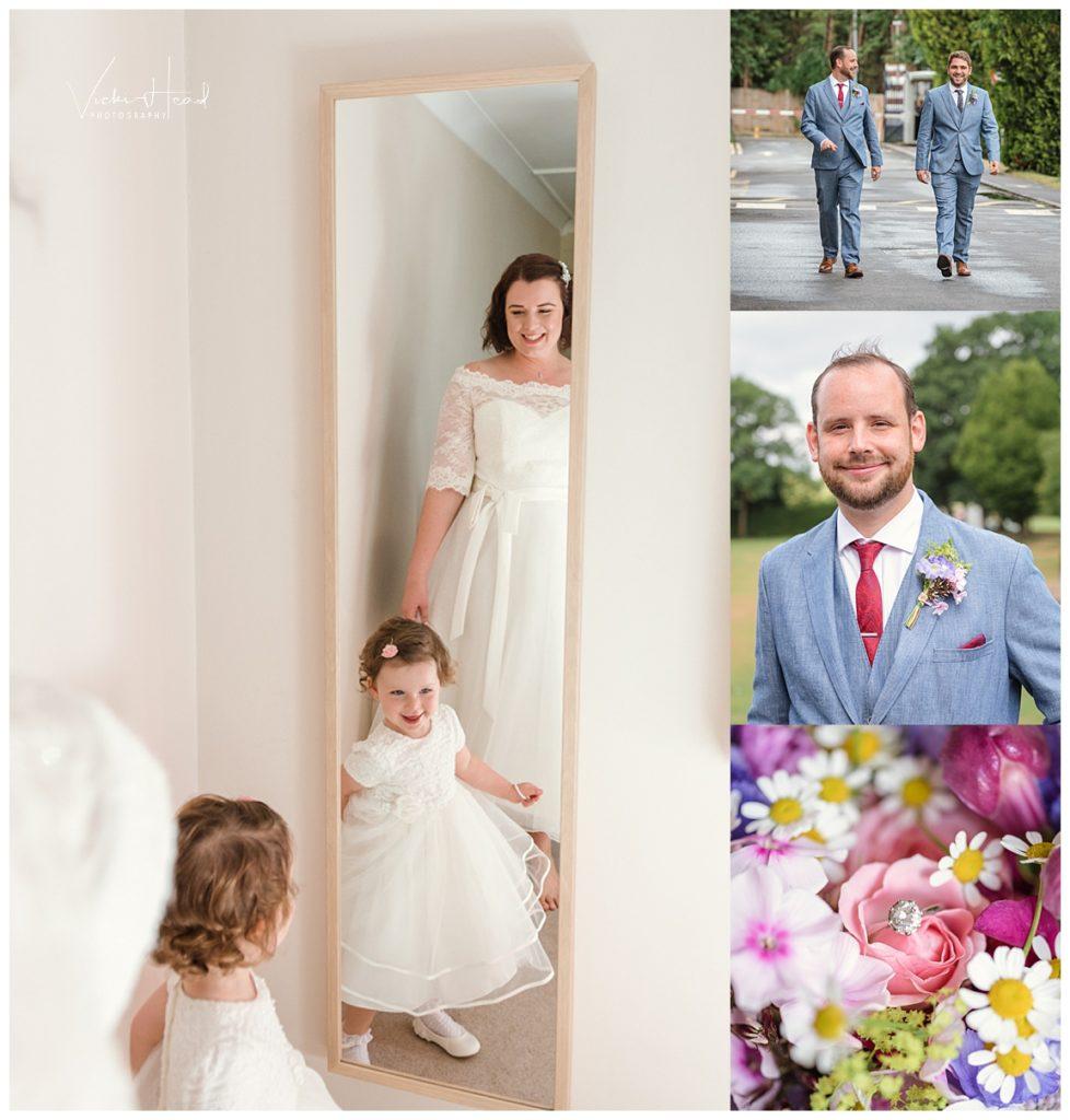 London Wedding Photography, Bridal Preps, Bank of England Sports centre